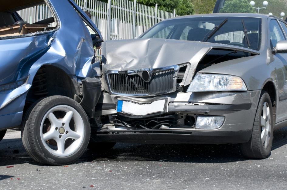 Incidente stradale con tamponamento